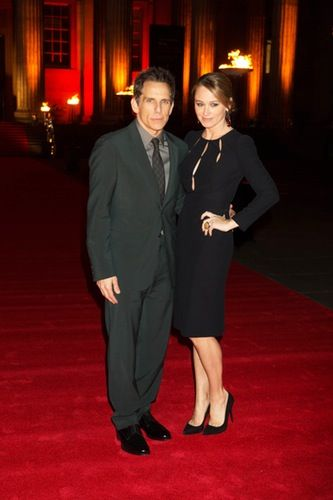 Ben Stiller and his wife, Christine Taylor, attend the 'Night at the Museum' photo call in London on Monday, Dec. 15!