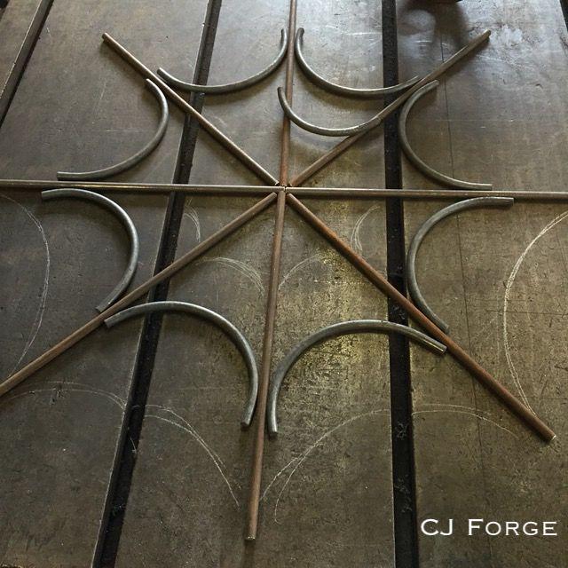 Detroit tattoo shop window grill. -CJ Forge