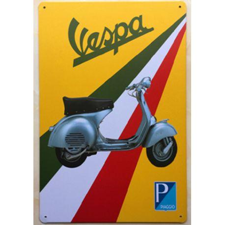 vespa scooter italie #deco plaque metal