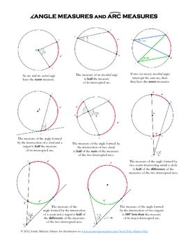 34 Angles And Segments In Circles Worksheet - Worksheet ...