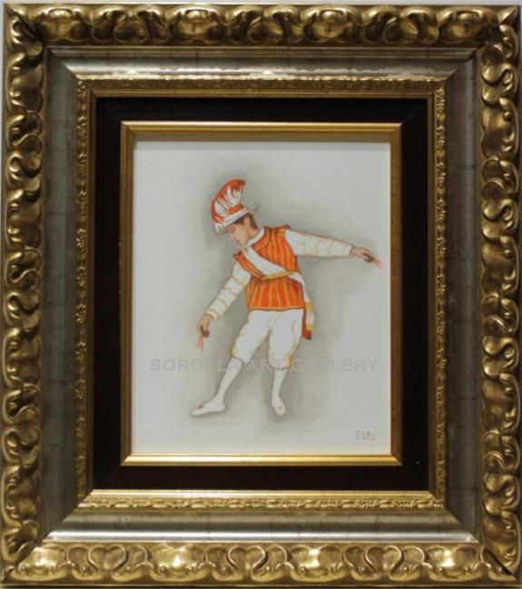 Sáez : Seise. Medium: Oil on wood Measurements (cm): 47x42 Canvas measurements (cm): 27x22 Interior frame: Yes. Beautiful painting of a religious theme: a child dancer who is part of the chorus that perform at the Cathedral of Seville. $157.79