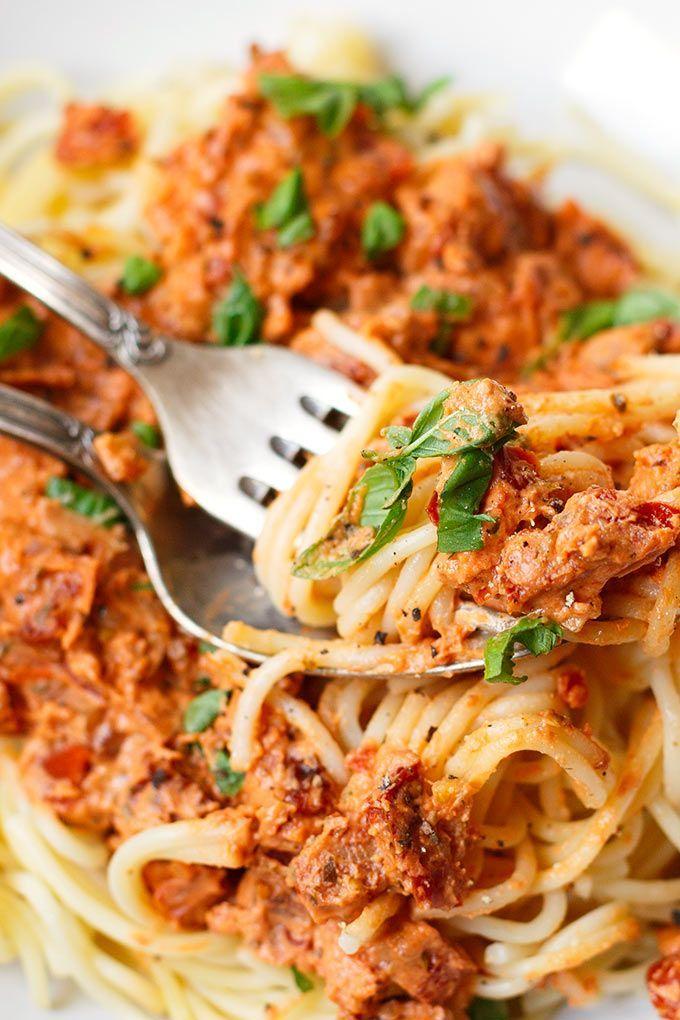 Die besten 25+ Nudeln mit tomaten Ideen auf Pinterest Leichte - leichte und schnelle küche