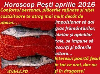 diane.ro: Horoscop Peşti aprilie 2016