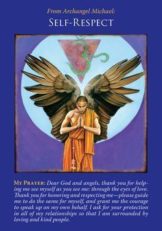 11/24/17Oracle Card Self-Respect | Doreen Virtue - Official Angel Therapy Website