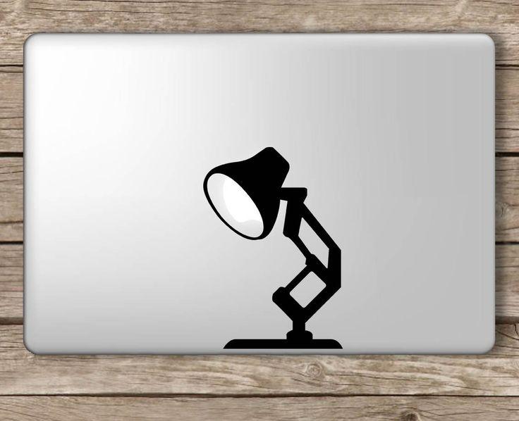 Amazon com pixar lamp disney apple macbook laptop vinyl sticker decal computers