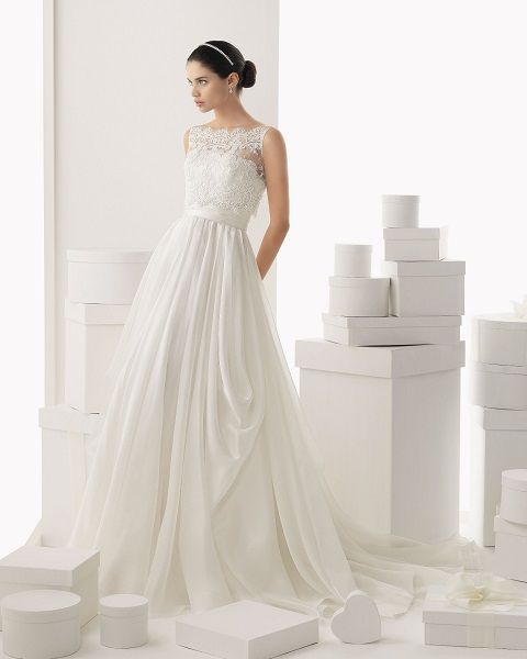 Abiti da sposa 2014, Rosa Clarà, 7 41440 | Sposalicious