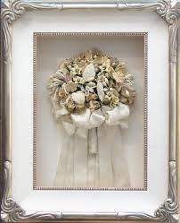 framed wedding bouquet 2