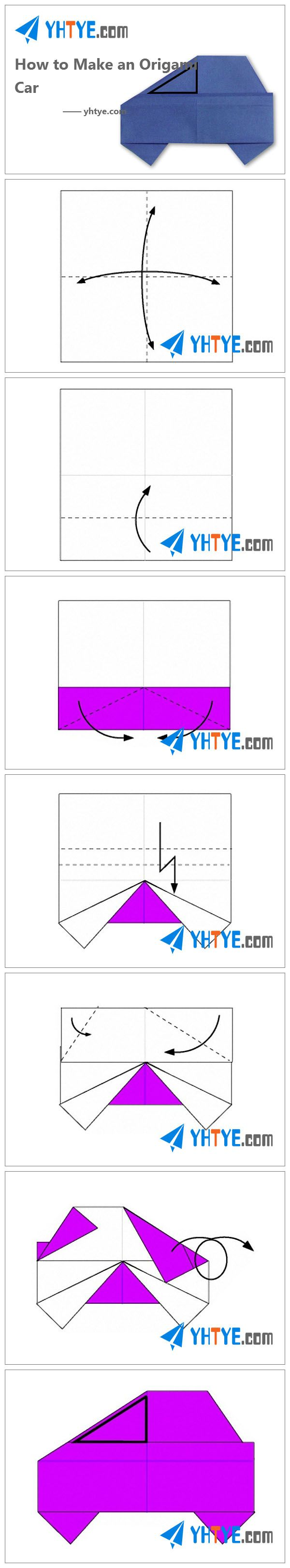 Best 25 origami car ideas on pinterest origami heart how to how to make an origami car jeuxipadfo Choice Image