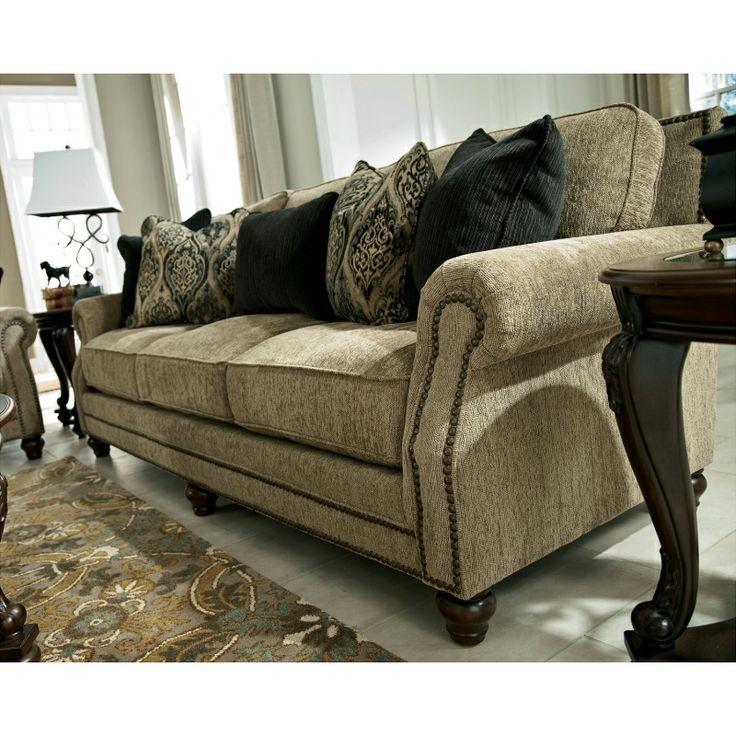 ashley furniture bardwell patina sofa