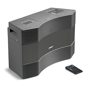 I wish for this Bose all-in-one music system that performs like a large component system costing much more—with far less complication and clutter. Advanced Bose® speaker and audio technologies deliver sound with clarity and consistency, even at loud volume levels, in larger rooms and outdoor spaces. Ohh, the glory!