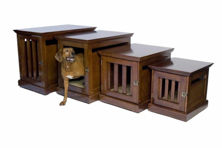 End Table Dog Crate Furniture