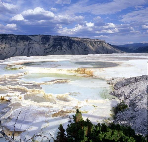 Mineral springs, Yellowstone