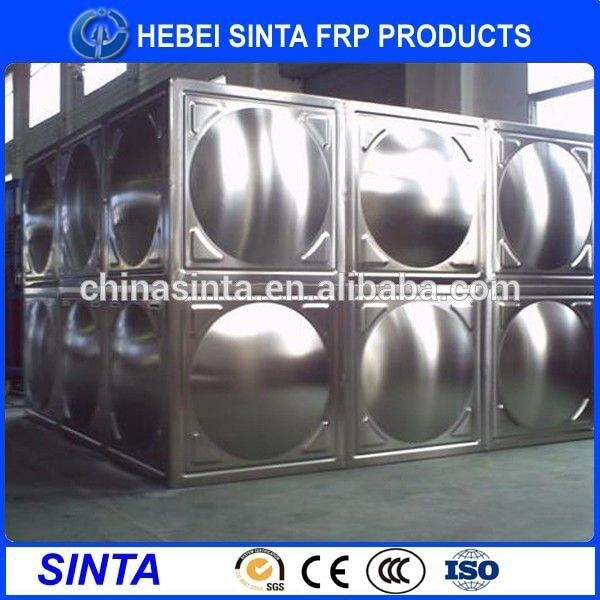 Food Grade Bolts&Nuts Assembled Stainless Steel Water Tank For Drinking Water
