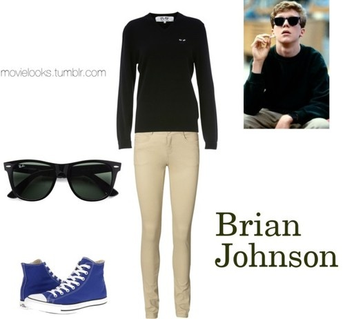 breakfast club brian johnson essay But we think you're crazy to make us write an essay telling you who we think we  are what do you care and you see us as you.