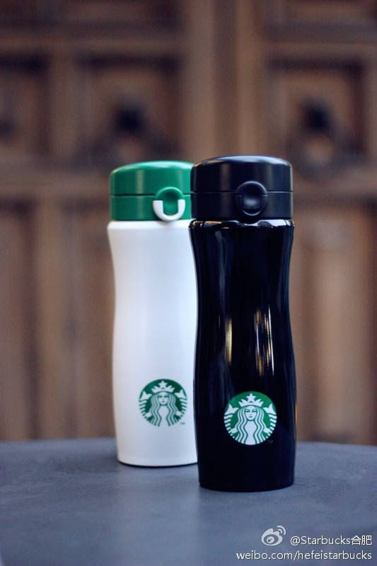 Starbucks. Cute thermoses, need to get