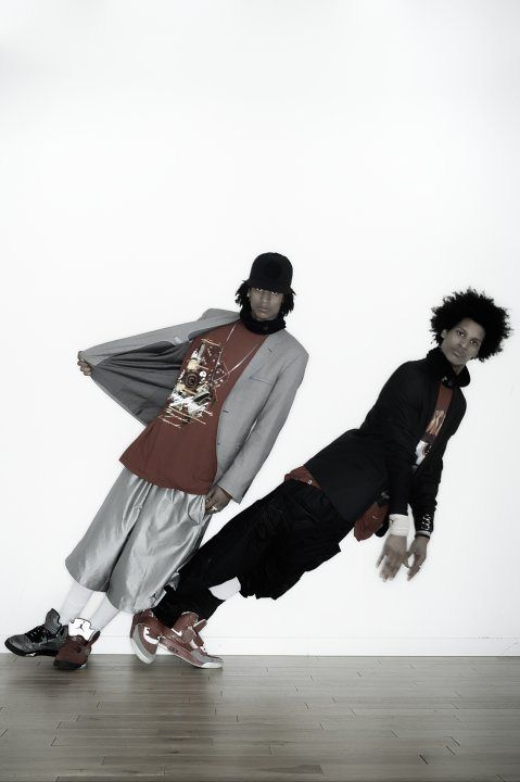 Les Twins, Larry and Laurent I'm in love with their style of dance and clothing They inspire me in the type of dance I love