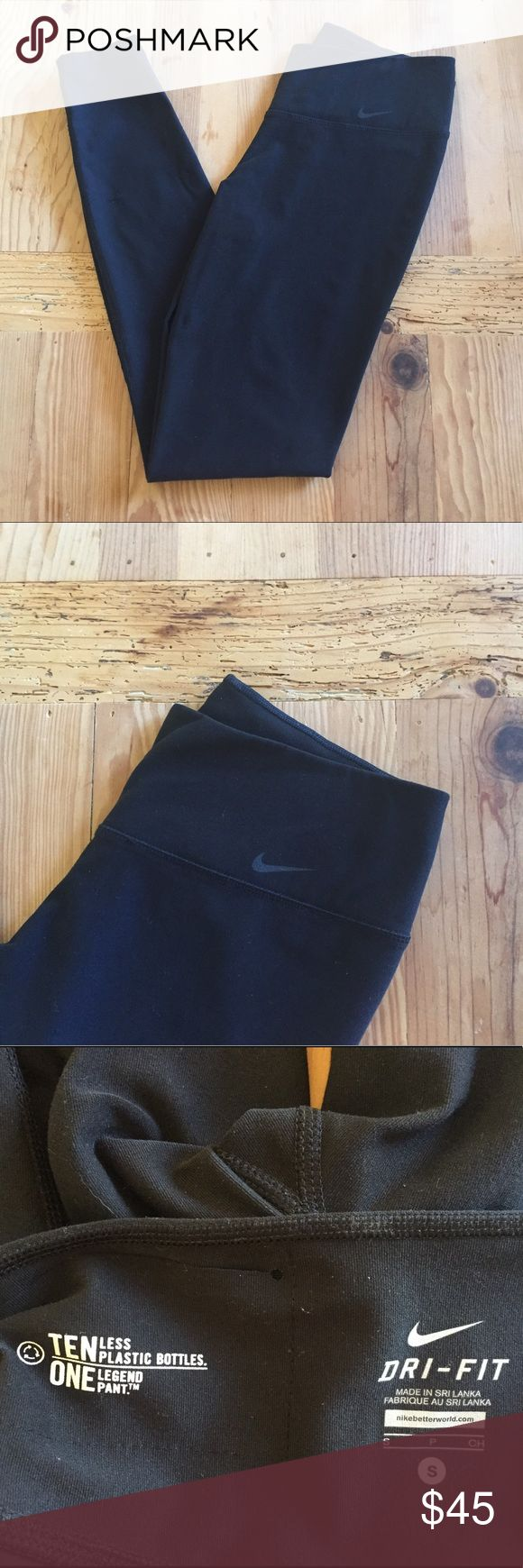 Nike Dri Fit leggings NWOT The best leggings, this pair has only been tried on, NWOT, 100% authentic bought at Nike Portland store. Size S. color is black. Full length. Nike Pants Leggings