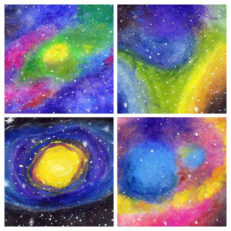 Nebulosas en acuarela / Watercolor Nebula