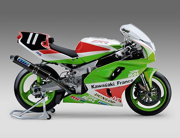 Kawasaki ZXR750R Endurance specs