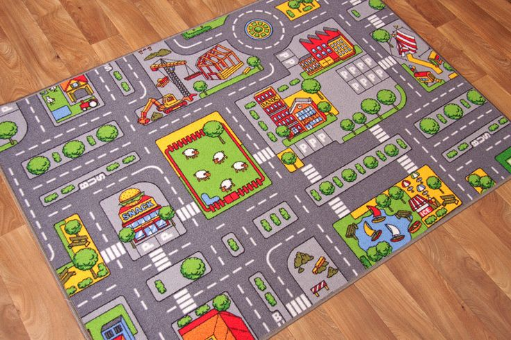City Rugs Map Rug And Puzzle Mat On Pinterest