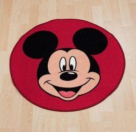 Leuk rond ;tapijt met een ;Mickey Mouse ;design. Dit kleed is gemaakt vannylon en ;is aan de achterkant voorzien van anti slip laag. ;Maakt ;uw ;Mickey ;Mouse ;slaapkamer helemaal áf !