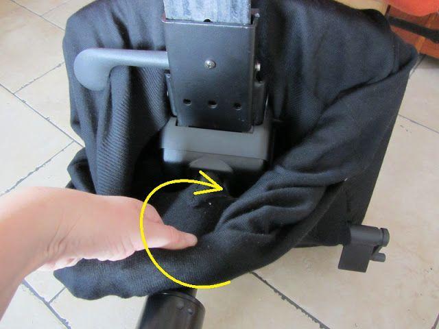Krzesło komputerowe - szybka zmiana obicia na siedzisku bez użycia nożyczek
