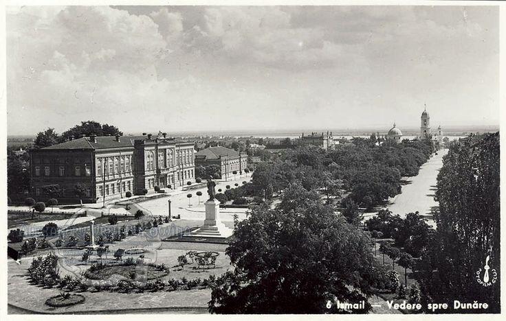 Ismail. Vedere spre Dunăre.