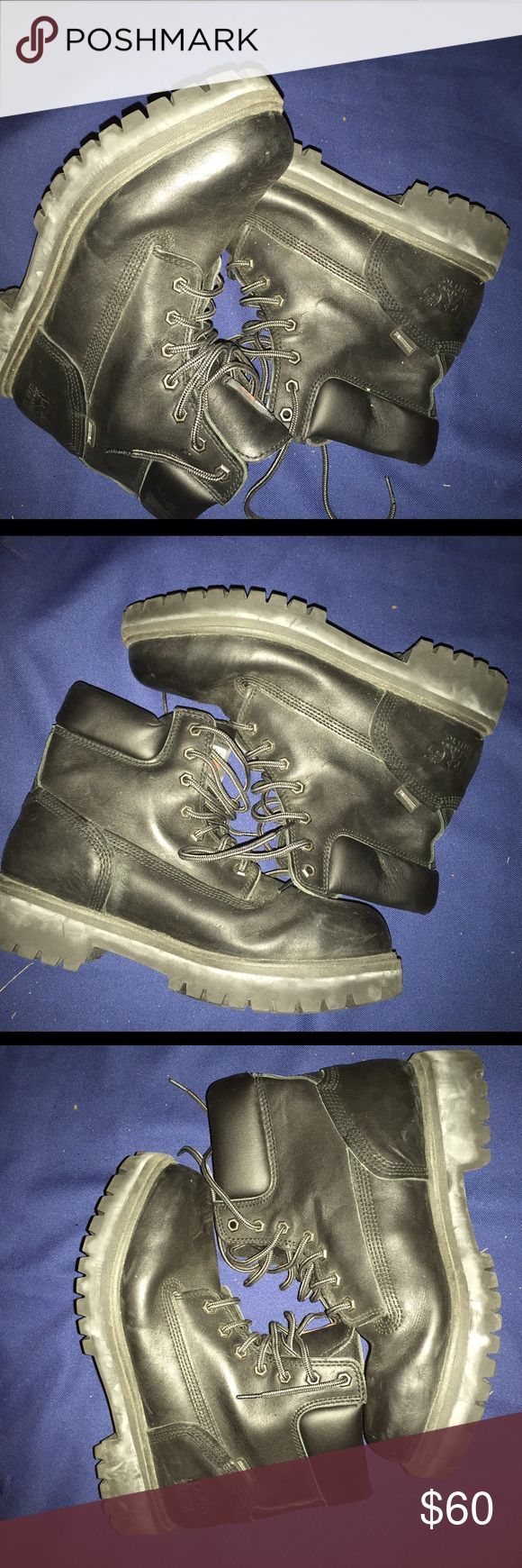 Timberland Pro Series steel Toe waterproof size 10 Just like new Timberland Shoes Boots