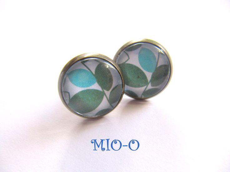 Ohrringe - Ohrringe Bläter - ein Designerstück von MIO-O bei DaWanda
