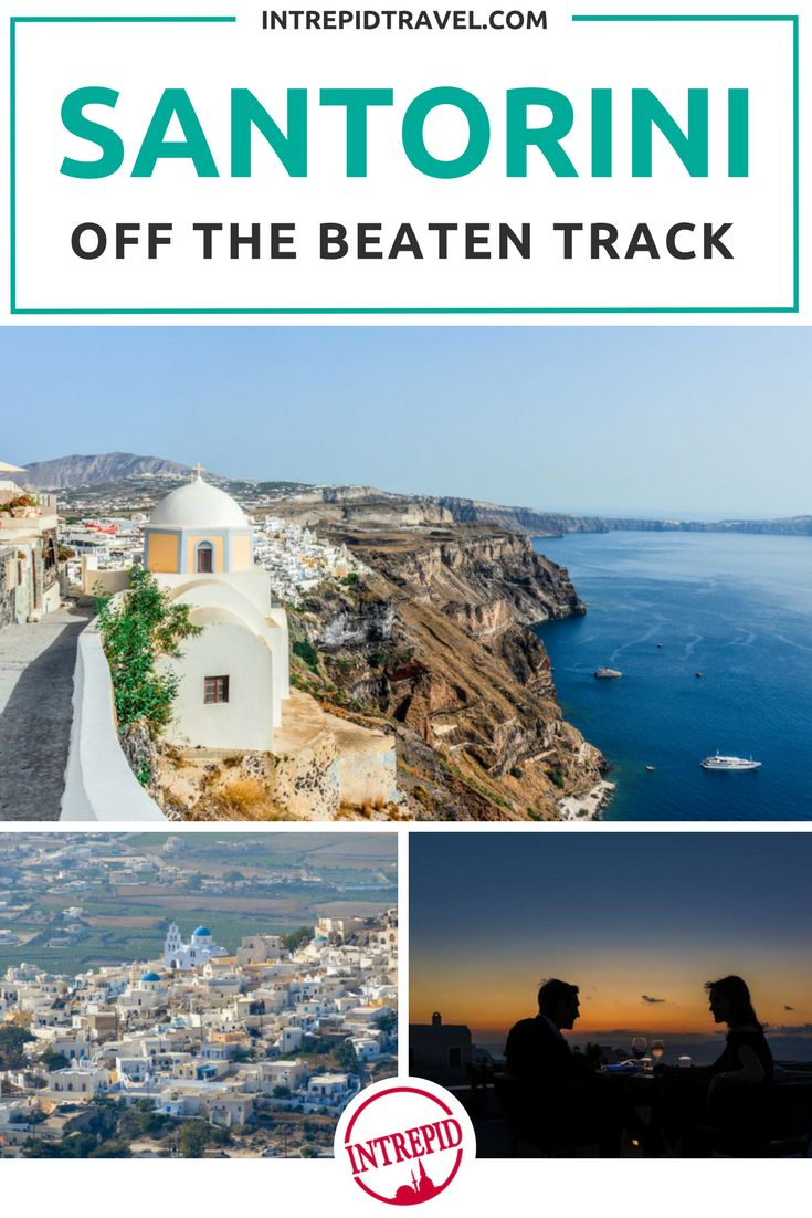 When you think of Greece, it's likely your mind jumps straight to Santorini. With jaw dropping ocean views, those classic white and blue buildings, and a selection of the most amazing sunsets in the world, the island is a top spot on everyone's travel lis