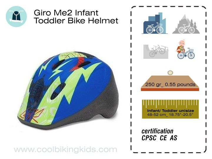 Giro Me2 Infant Toddler Bike Helmet Review - Cool Biking Kids