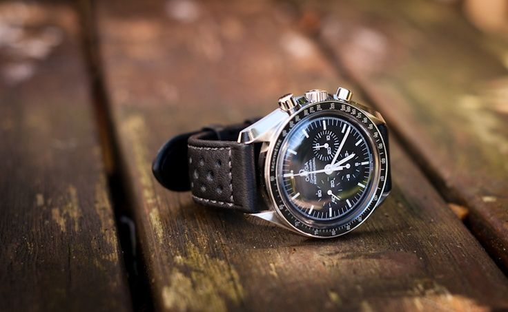 omega speedmaster leather strap - Google Search | Watches ...