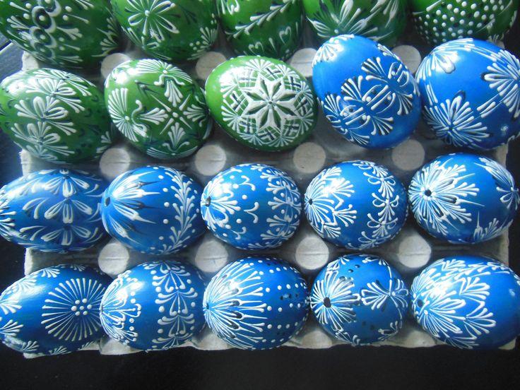 Velikonoce 2016 - zdobení voskem