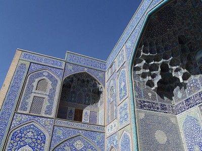 Iran meczet w Isfahanie