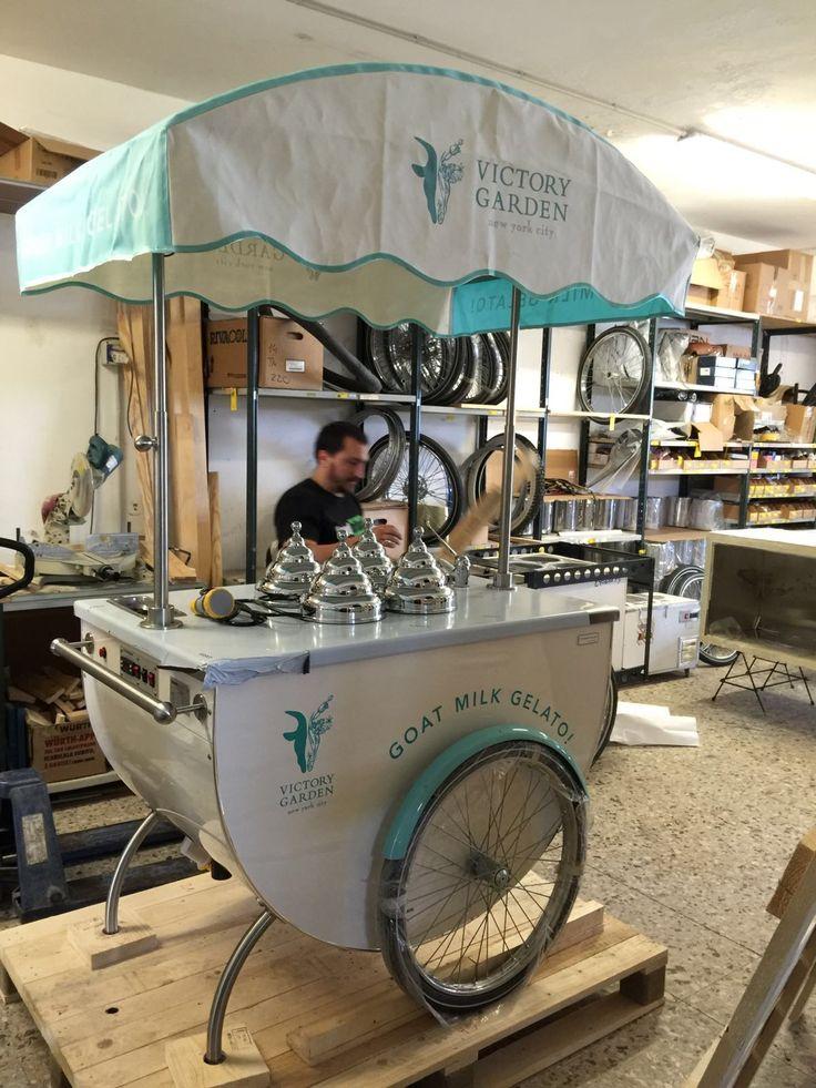 #gelato #icecreamcart #tekneitalia #katerina #cart #foodtrucker #nyc