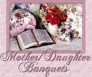 Mother/Daughter Banquet Themes