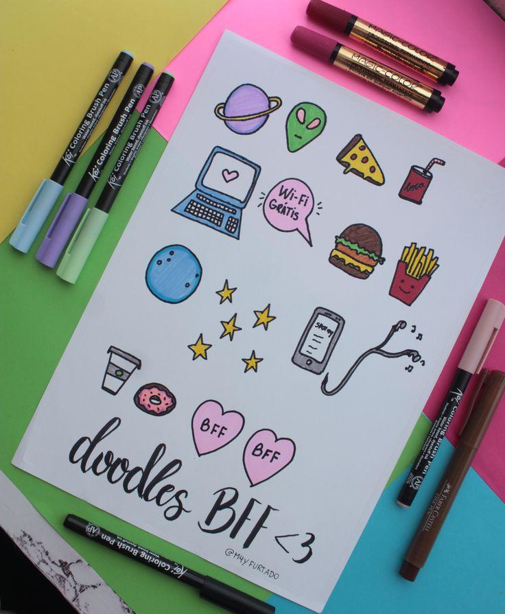 Рисунки что можно нарисовать в личном дневнике