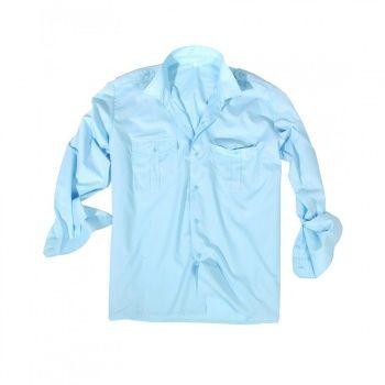 Camicia Manica Lunga Militare e Security  Colore: Azzurro  Taglia:   XL