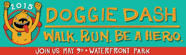 Walk. Run. Be a Hero. Join us on May 9 at Waterfront Park in Portland, Oregon for the annual Oregon Humane Society Doggie Dash!