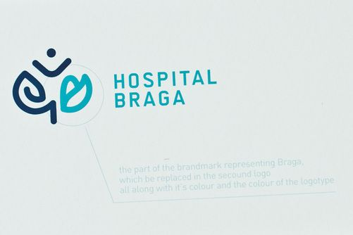 gen design studio, an identity for a new hospital in Braga, Portugal #identity #design #logo