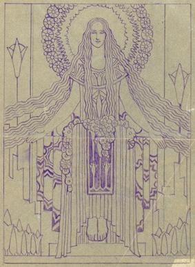 Christian Waller, early Australian female artist and printmaker