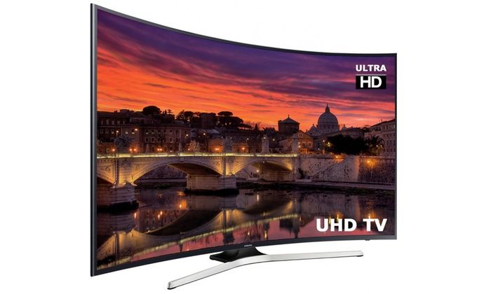 Groupon Goods Global GmbH: Samsung UE65MU6200 65'' 4K Ultra HD LED Curved Smart TV With Free Delivery