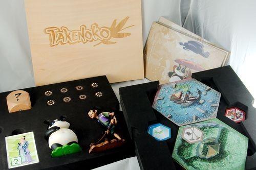 Takenoko Special Edition - Contents