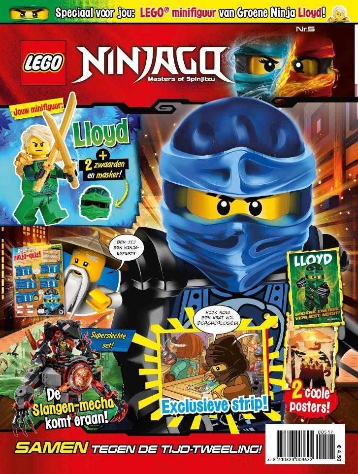 ben jij een echte lego ninjago fan en wil jij geen enkel tijdschrift