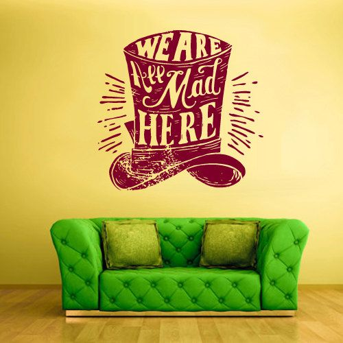 Grand Big Wall Decal vinyle autocollant par StickersForLife sur Etsy, $28.99
