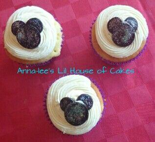 Mickey  birthday Cupcakes
