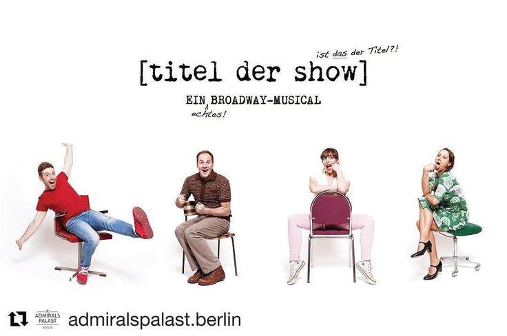 #Repost @admiralspalast.berlin with @repostapp  Wir sind aufgeregt!  Am Sonntag feiert das Broadway-Musical [titel der show] die Deutschland-Premiere.  Auf unserem Blog durften wir mit Produzent @robinkulisch.de einen Blick hinter die Kulissen werfen und ihm spannende Fragen stellen.  Link findest du in der Insta-Bio