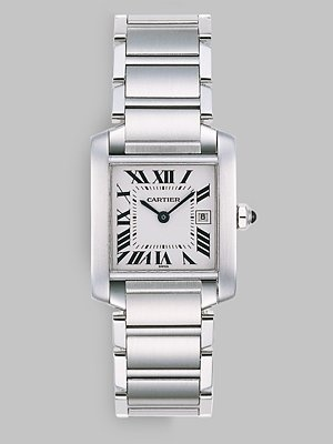 My next watch will be the Cartier Tank Francaise with Stainless Steel Bracelet (medium).