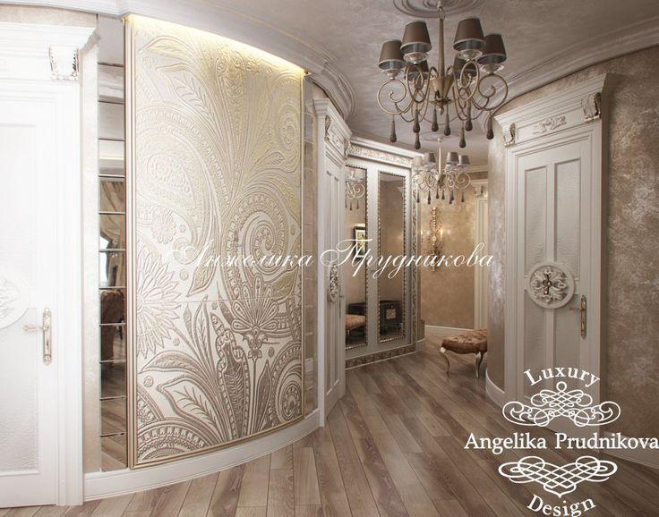 Интерьер гостиной в классическом стиле - фото