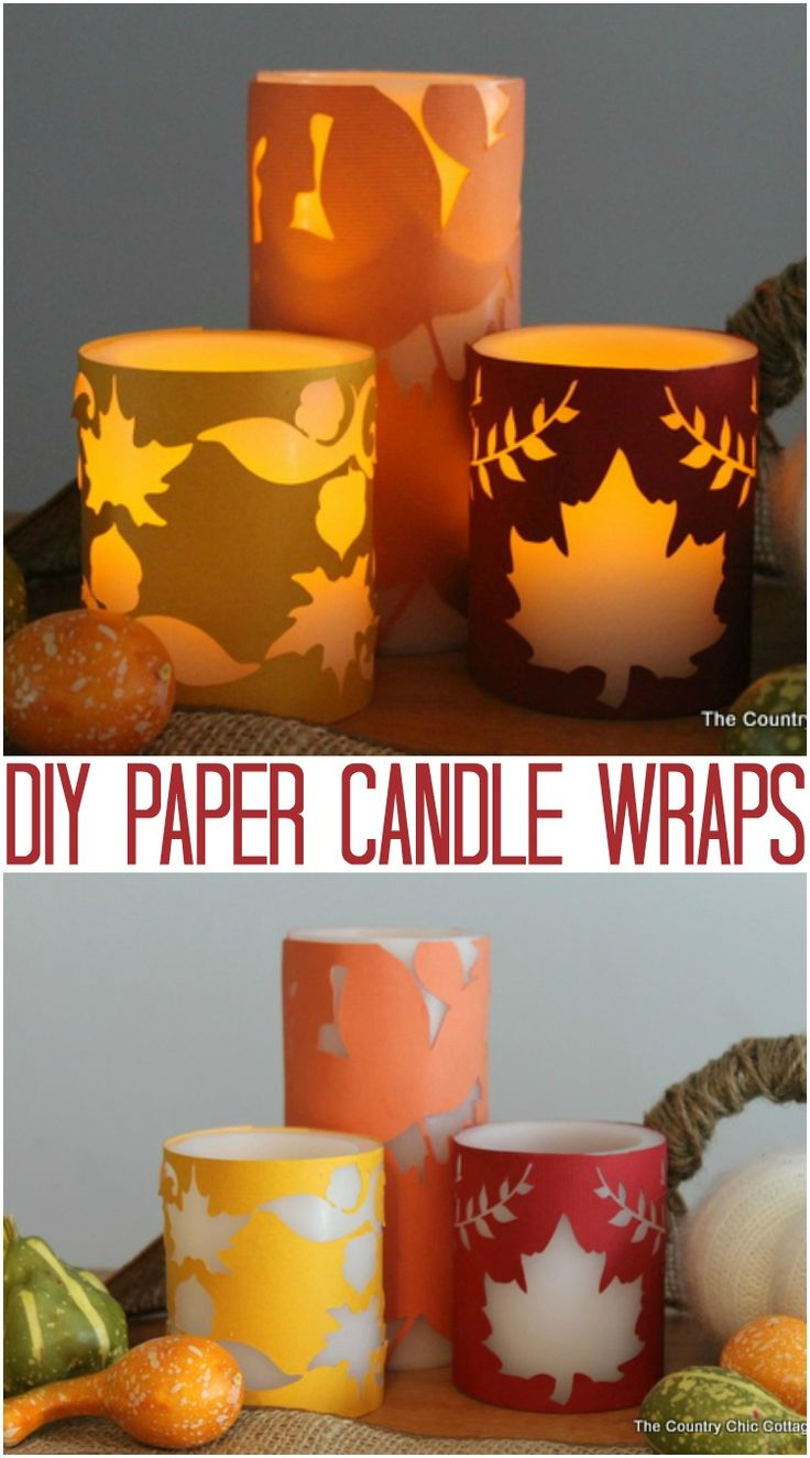 Over the past few months I have been infatuated with wrapping candles in decorative paper! I posted some candle wraps over at Crafts Unleashed and at Ucreate. I am going to combine them here in one post for y'all just in case you missed either of them. I am in love with this idea because …